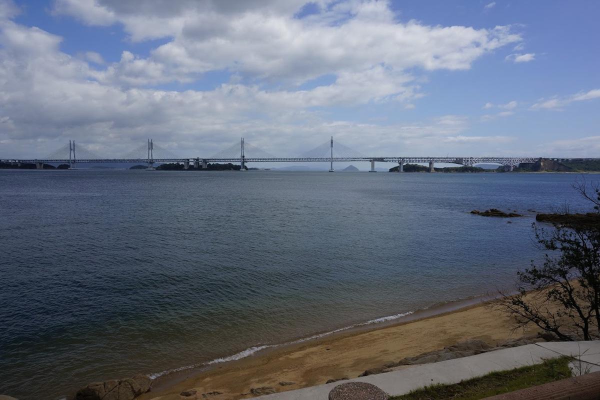 塩飽本島から瀬戸大橋