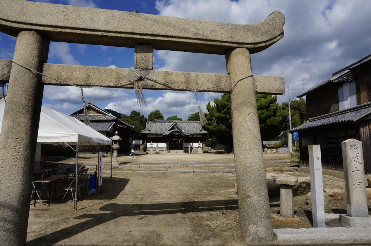 讃岐十景木烏神社