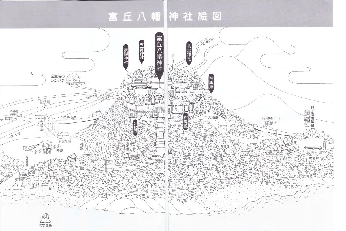 富丘八幡j神社のマップ