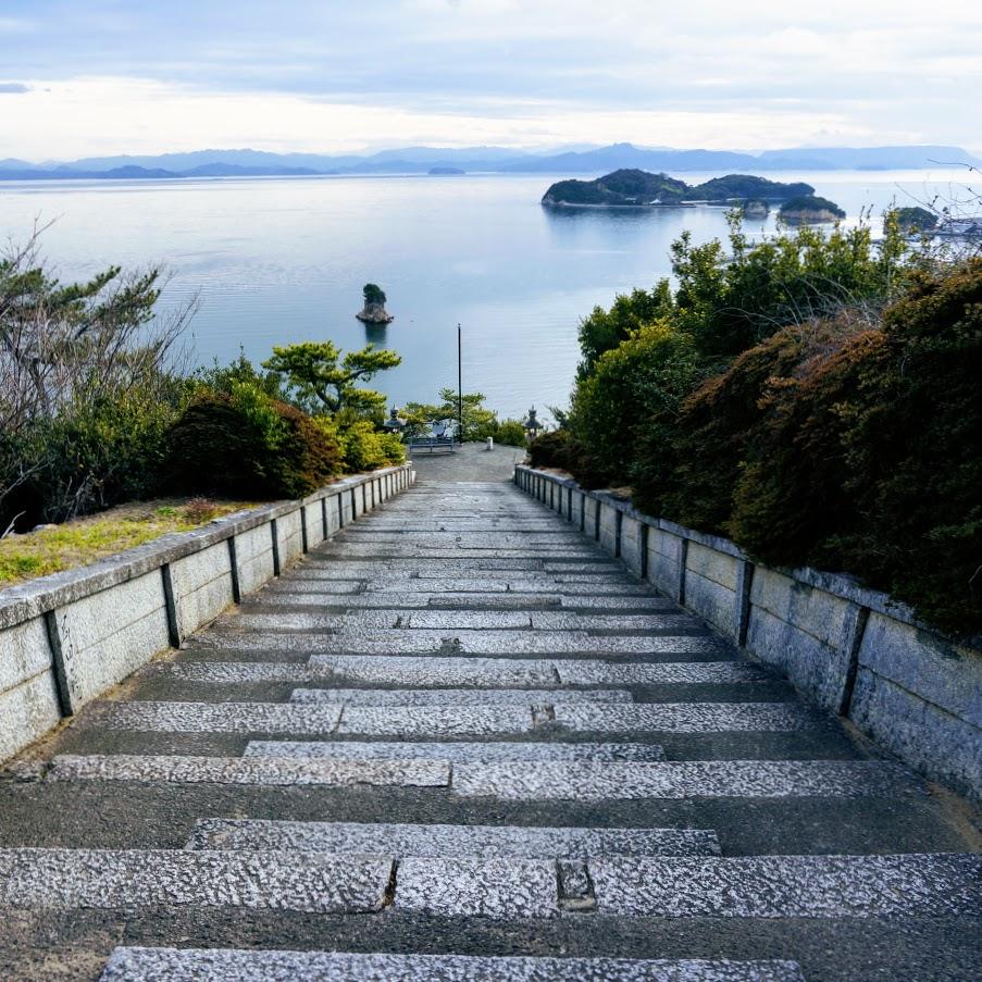 寅さんのいた覧魚崎 小豆島 富丘八幡神社