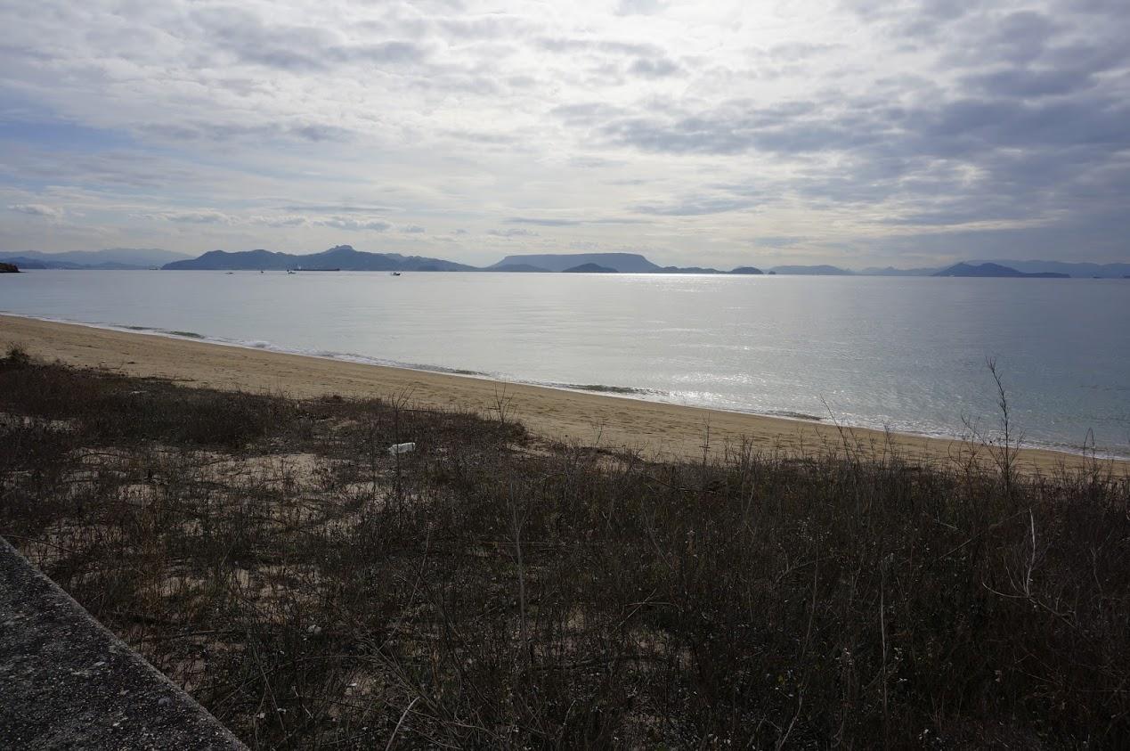 小豆島 千軒海水浴場