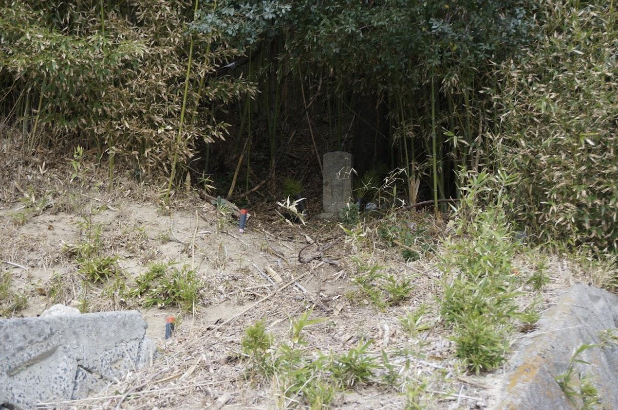 小豆島 柳隧道そばの地蔵