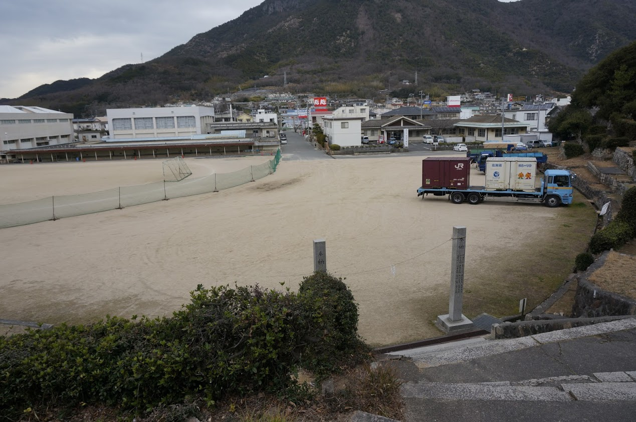 小豆島 富丘八幡神社の桟敷