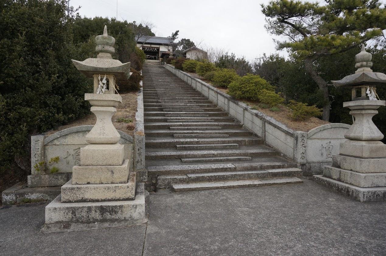小豆島 富丘八幡神社覧魚崎