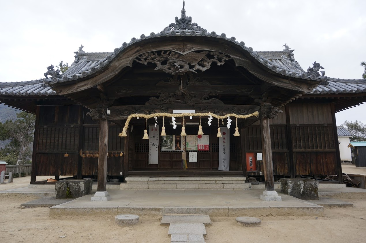 小豆島 富丘八幡神社