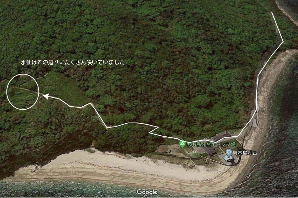 男木島第二水仙郷の場所