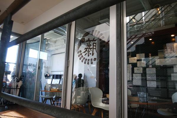 鬼滅の刃カフェ入口の手前