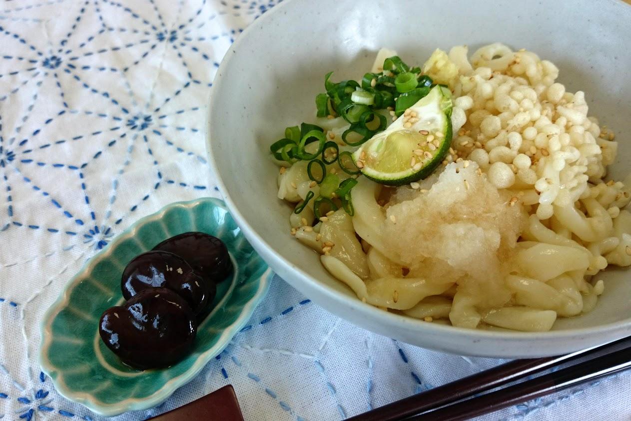 手作りしょうゆ豆_讃岐うどんと食べると本当に美味い