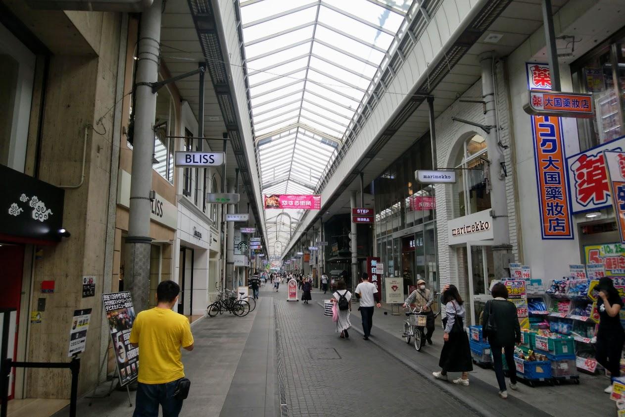 丸亀町商店街 2020年5月中旬