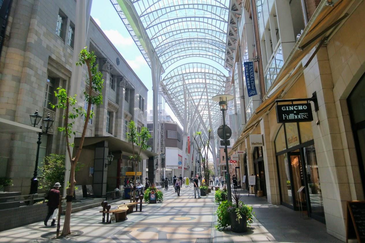 丸亀町商店街三番街付近2020年5月中旬
