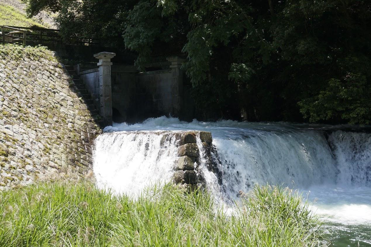 満濃池の樋門