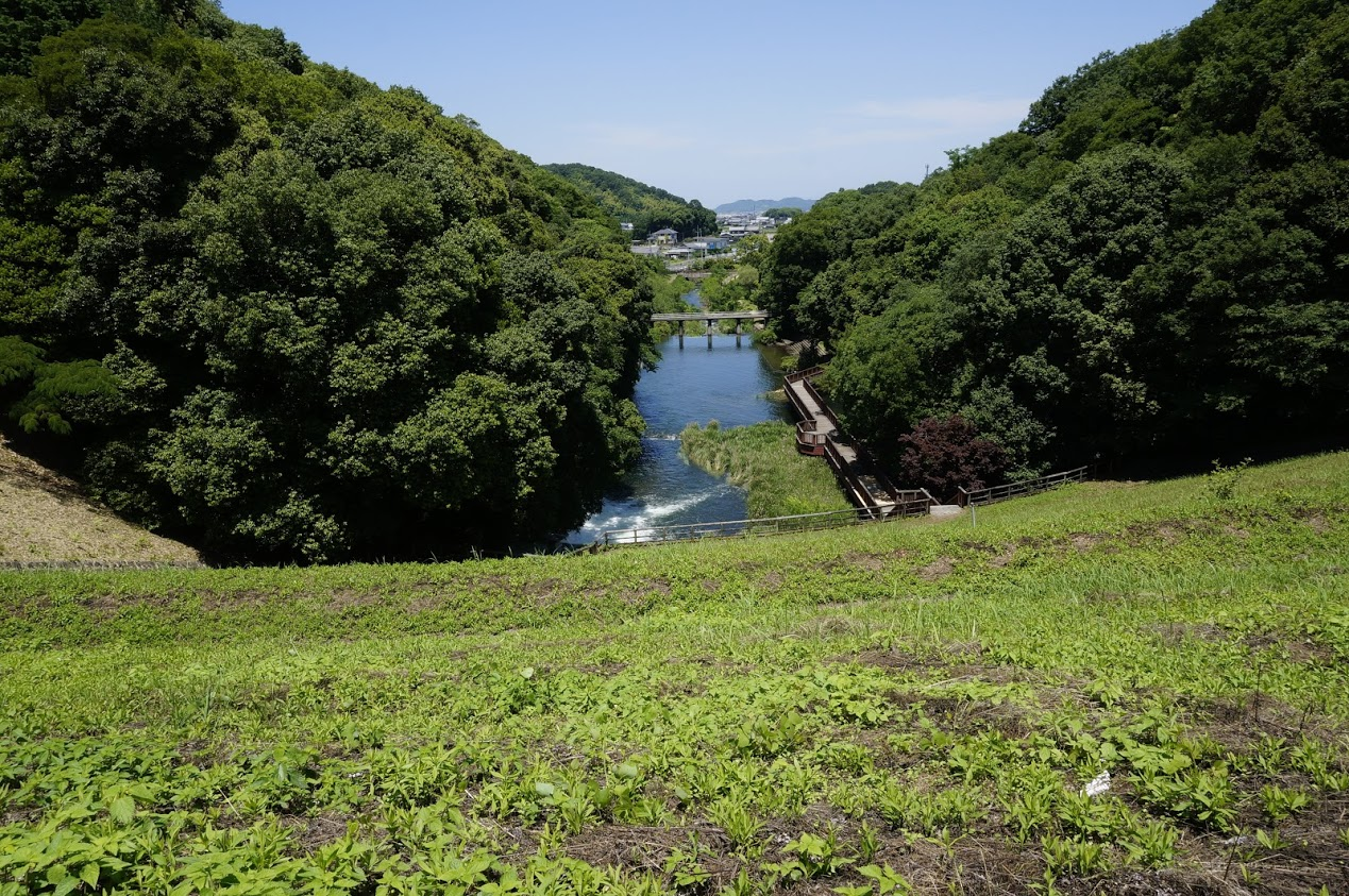 満濃池からほたる見公園