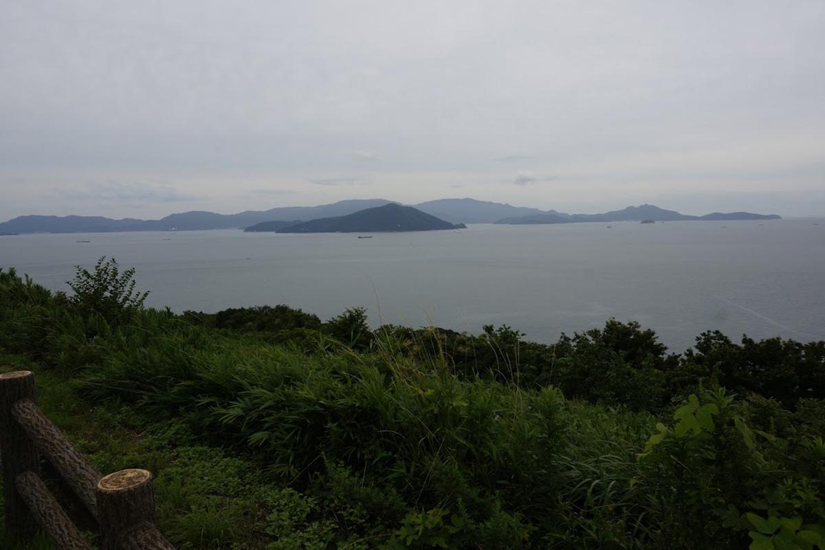 大串半島から見る小豆島三都半島