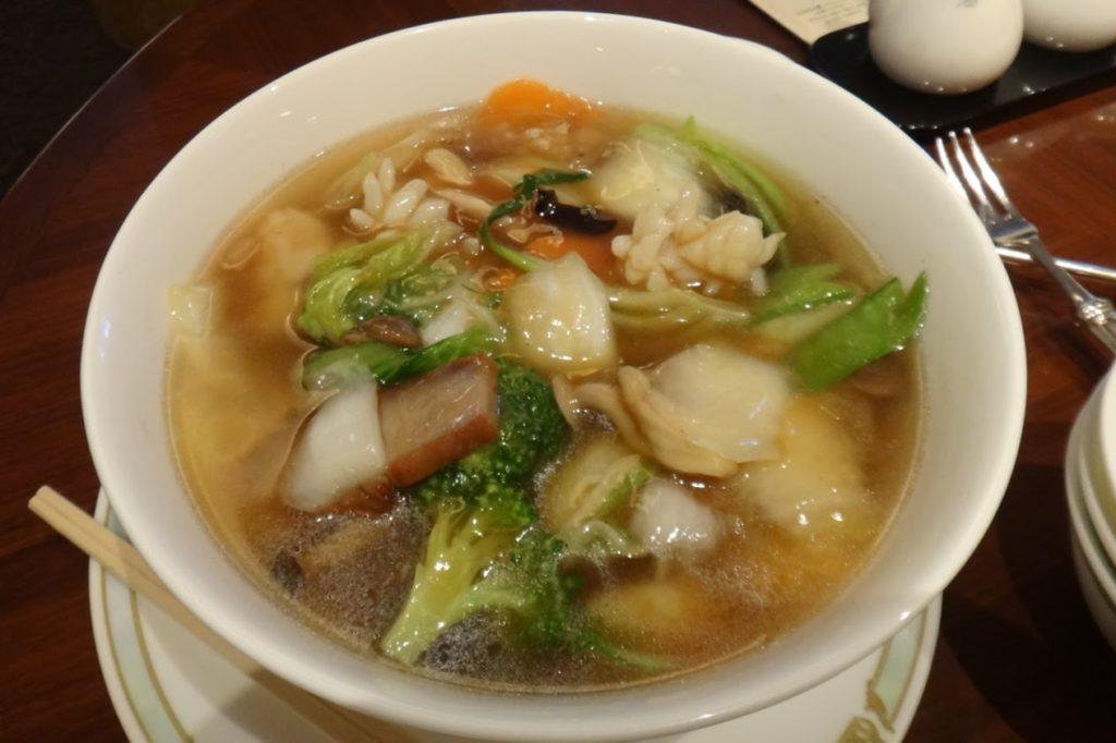五目スープそば