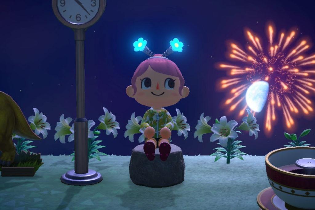 あつ森 夏の花火大会