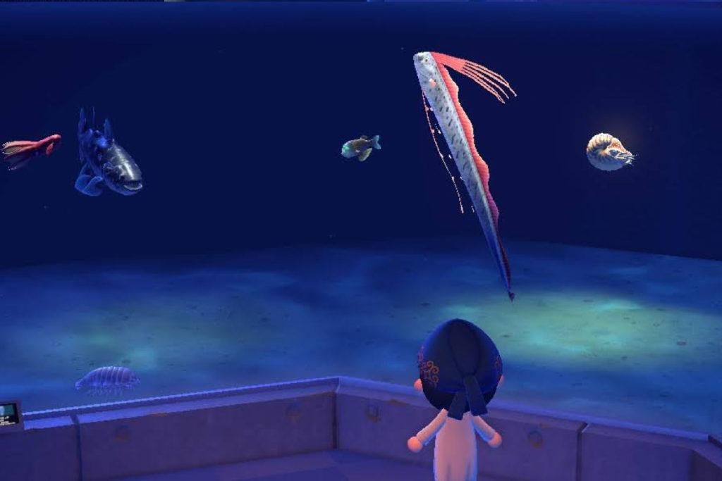 あつ森 深海魚の水槽