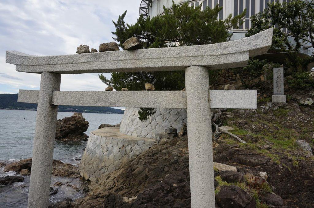 日本ドルフィンセンターの鳥居