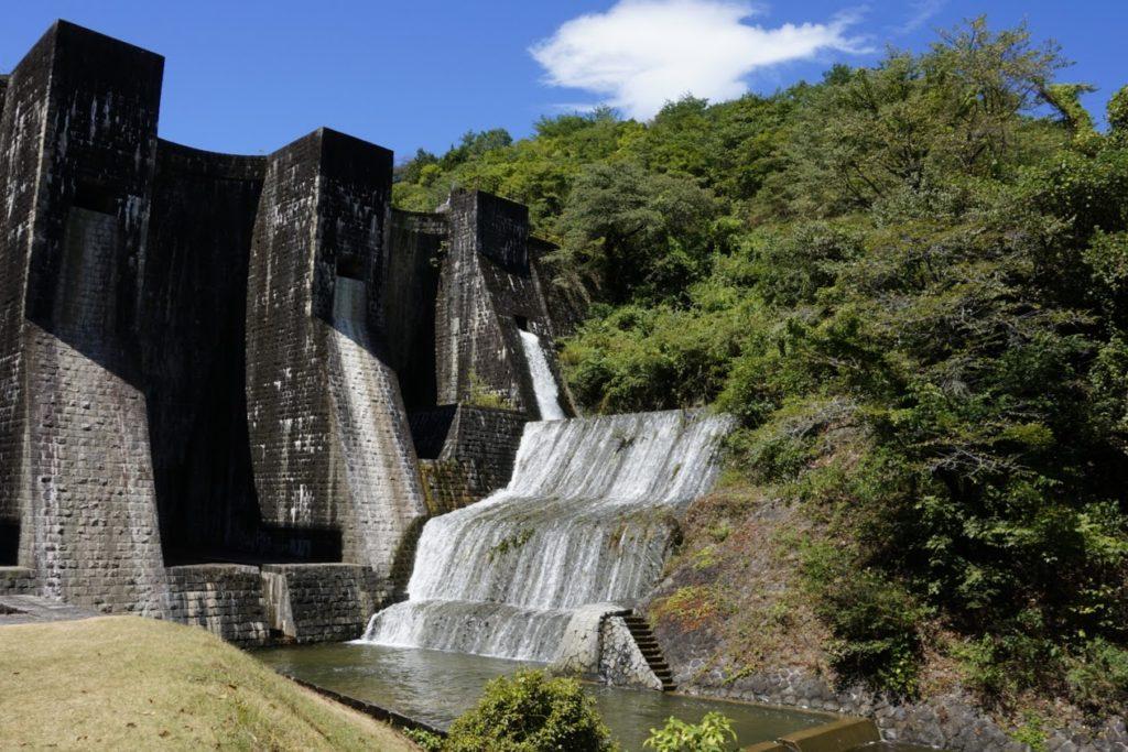 豊稔池ダム上樋
