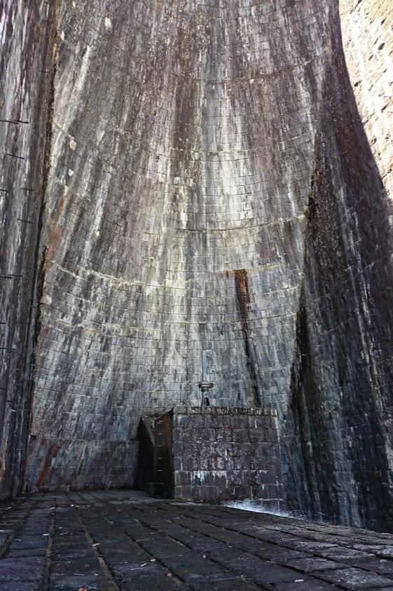 豊稔池ダム 中樋