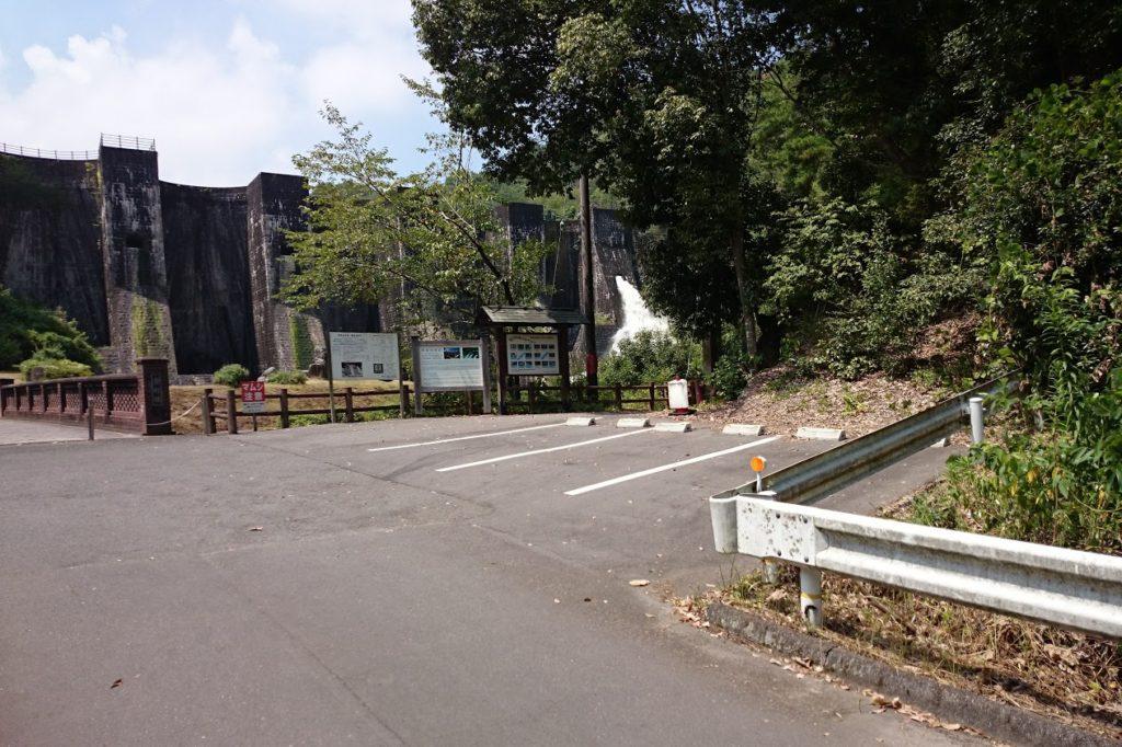 豊稔池ダム駐車場