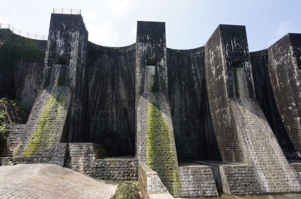 豊稔池ダム中樋