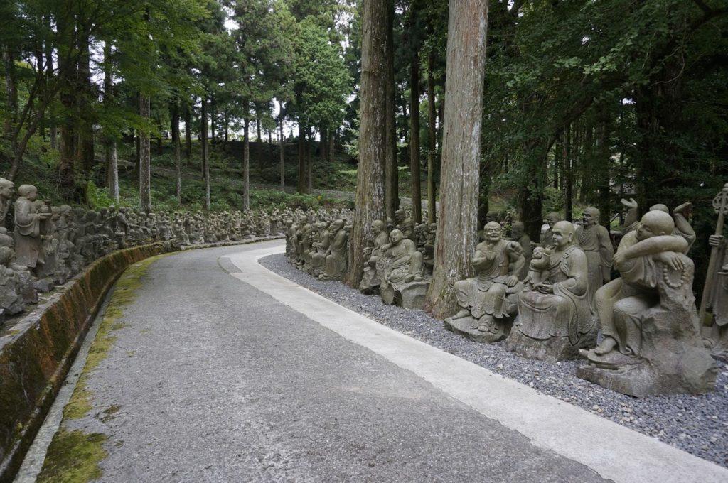 雲辺寺五百羅漢
