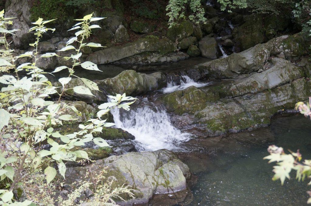 美霞洞八景 釜瀑布