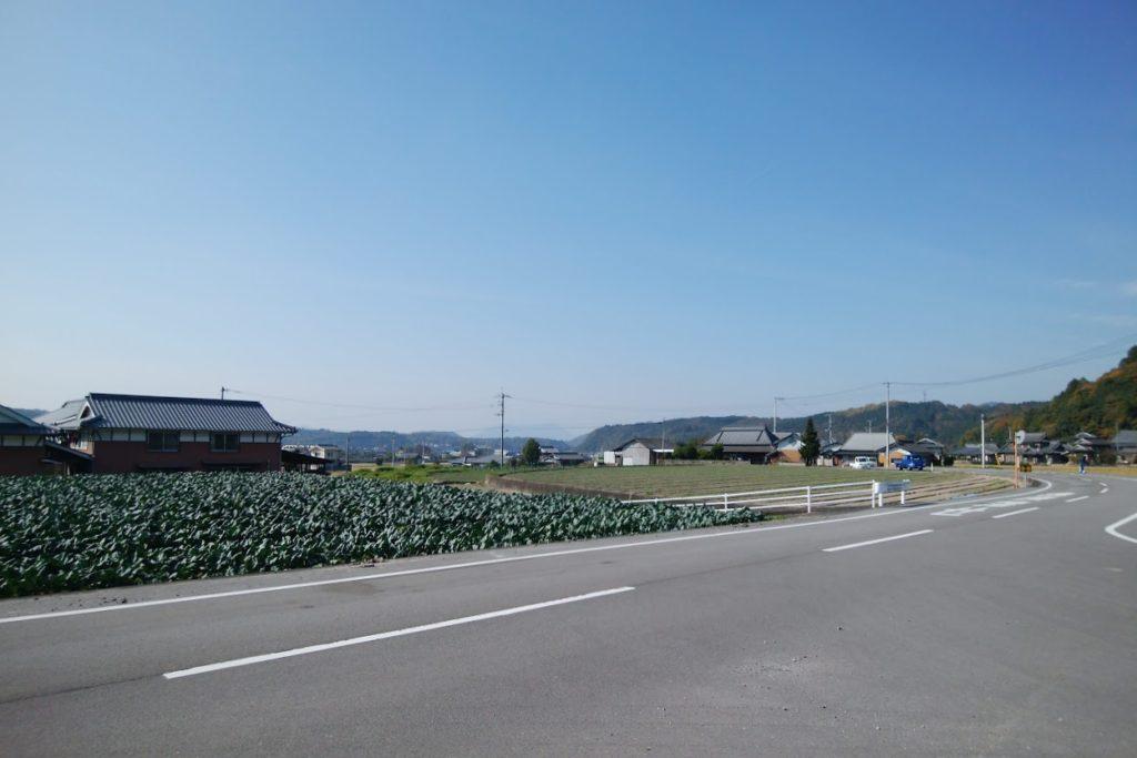 まんのう町造田の田園風景
