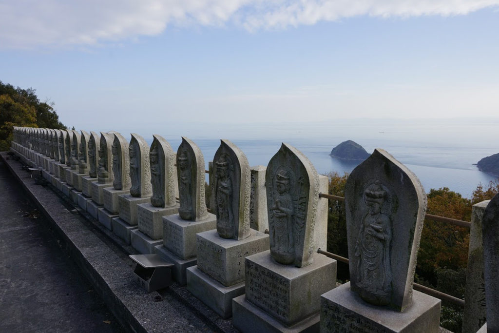 隼山大師堂からの景色