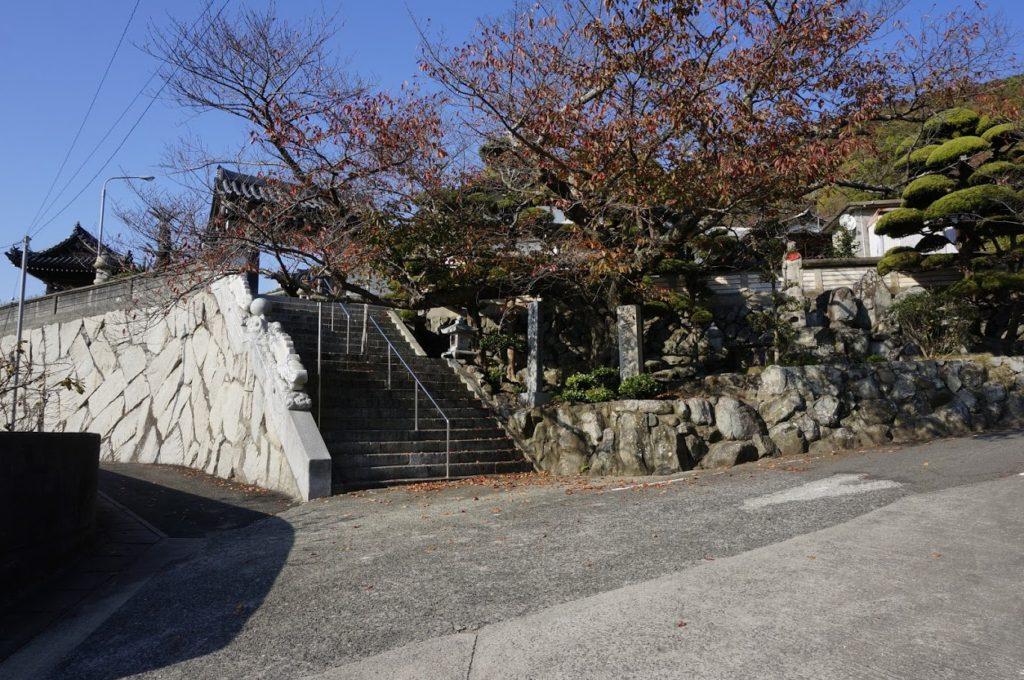 小豆島八十八か所3番札所観音寺