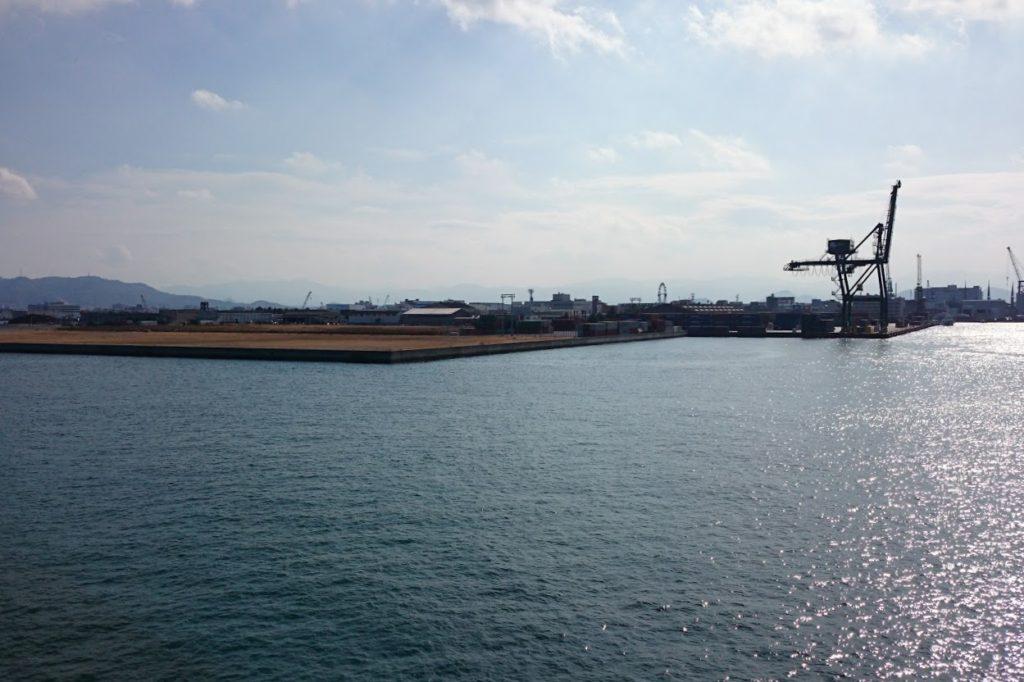 高松港 朝日新町高松港コンテナターミナル