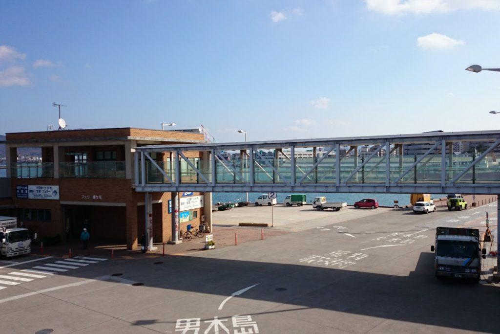 高松港フェリー乗り場