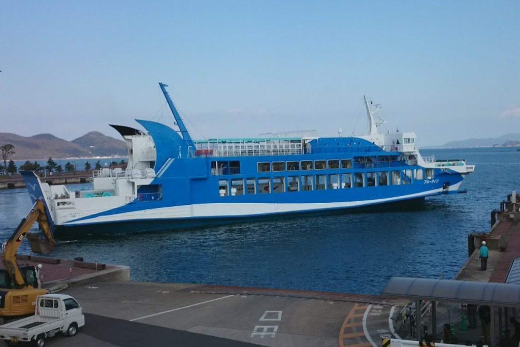 内海フェリー ブルーライン 高松港