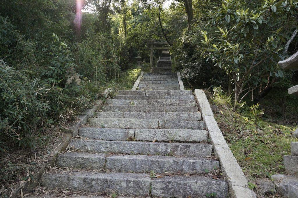 讃岐十景汐木山荒魂神社参道