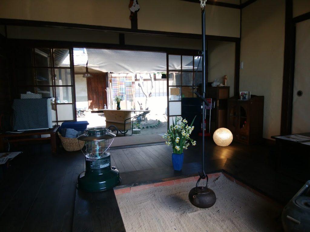 島のゲストハウスとカフェ ogijimaゆくる
