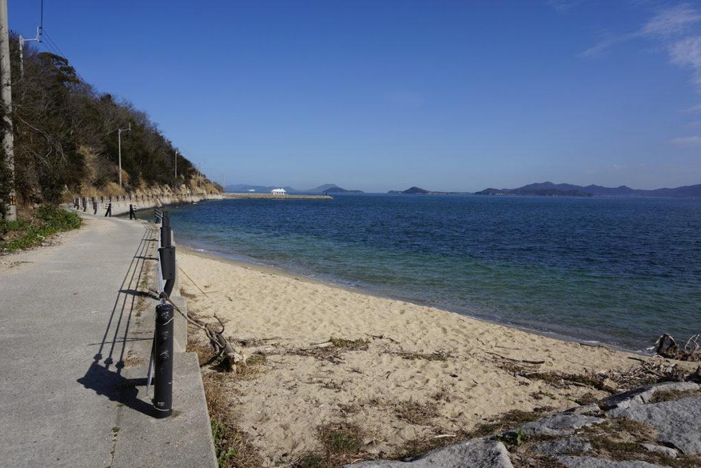 男木港から歩く方舟