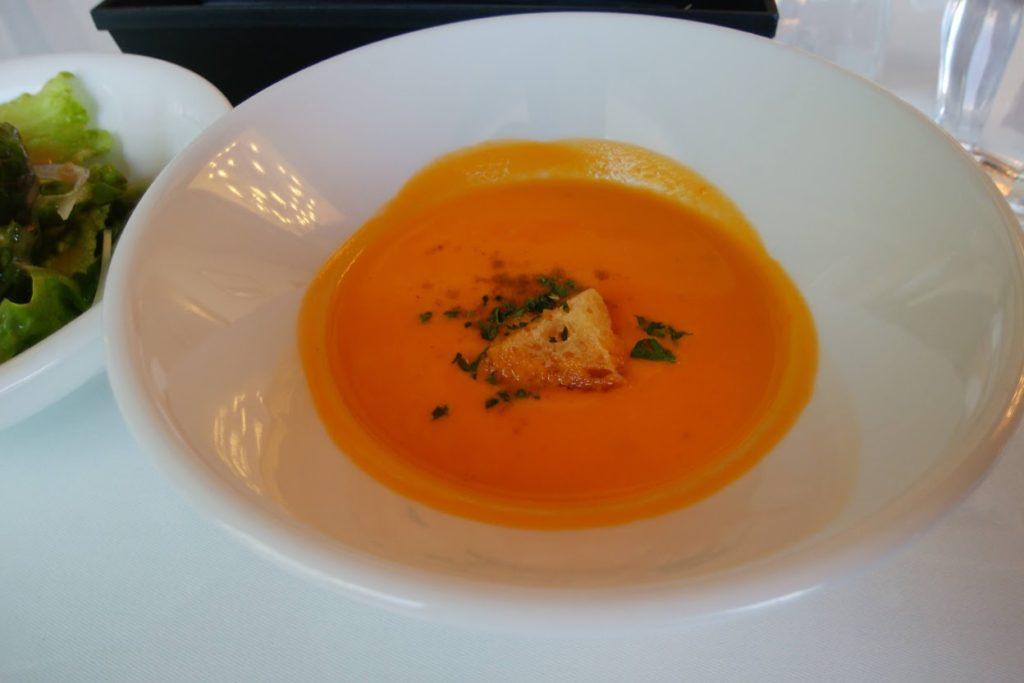 丸亀街SeaDragonの金時ニンジンのスープ