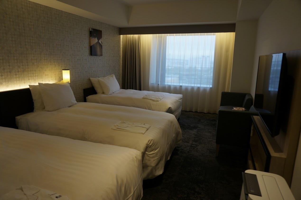 リーベルホテル アット ユニバーサル・スタジオ・ジャパン スーペリアツイントリプルユース
