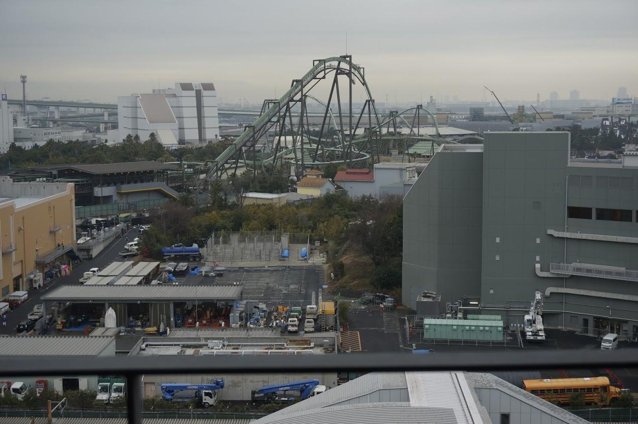 リーベルホテル アット ユニバーサル・スタジオ・ジャパンからの眺望