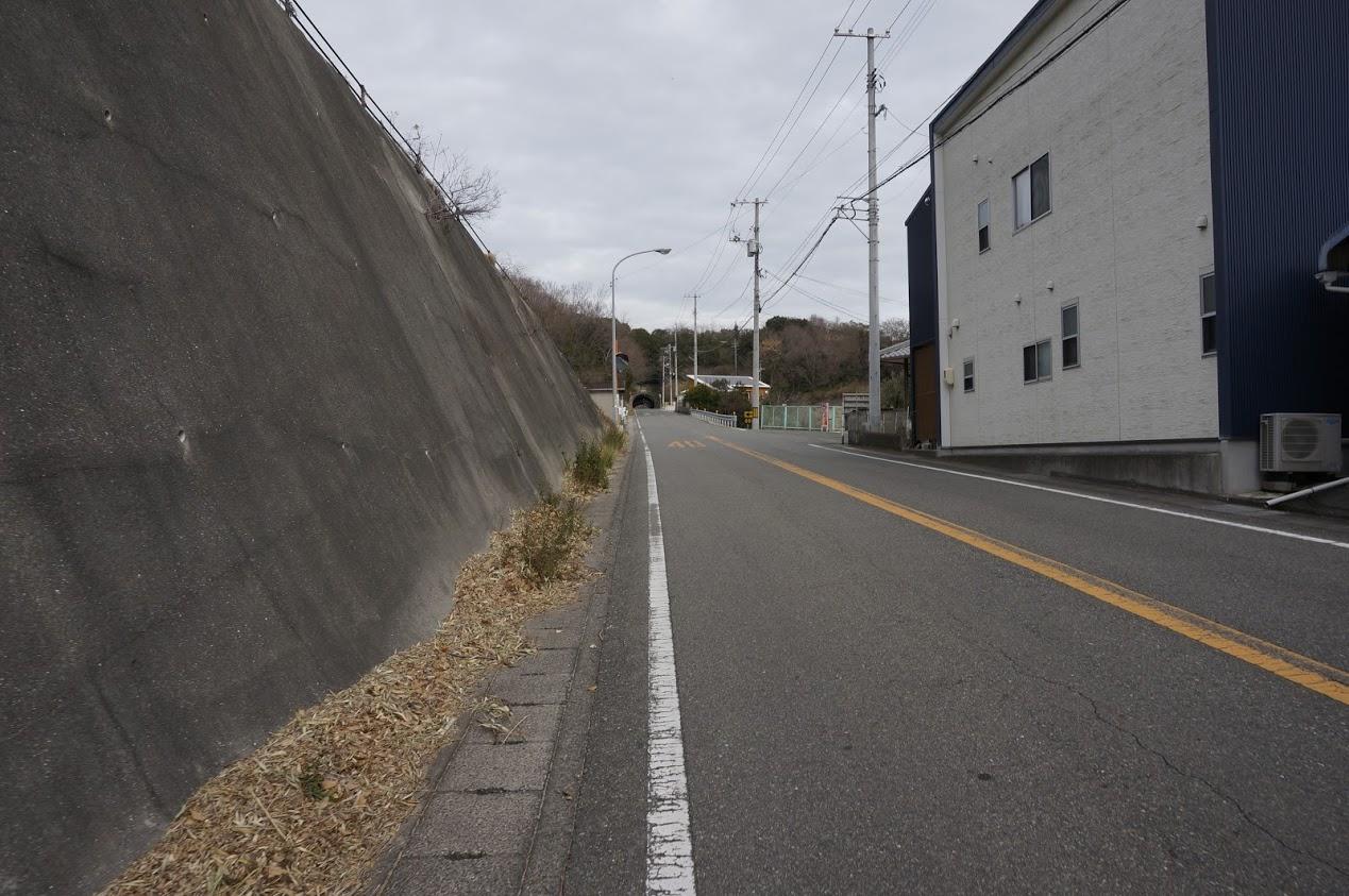 小豆島 柳隧道