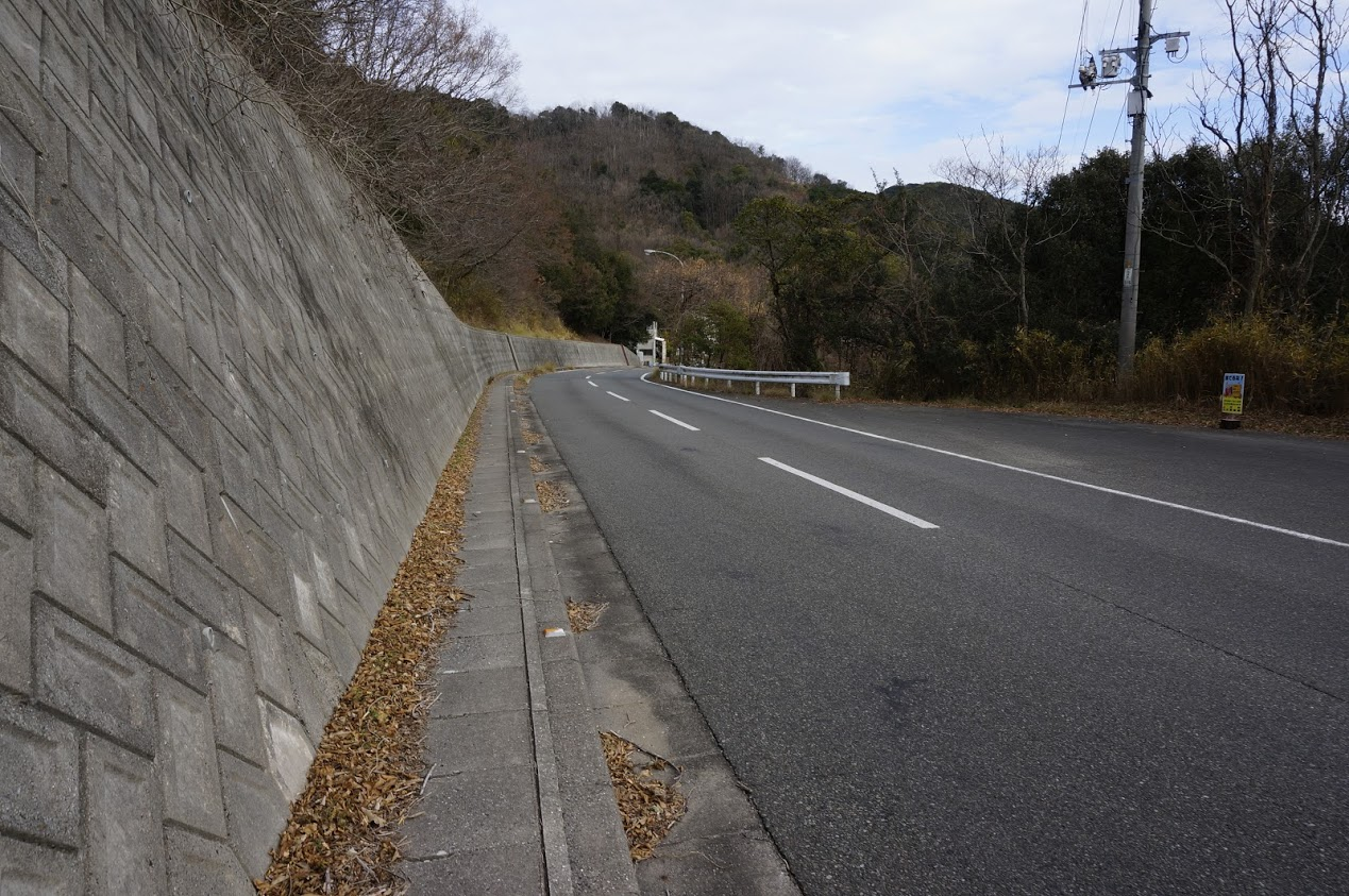 小豆島 県道254号線千軒