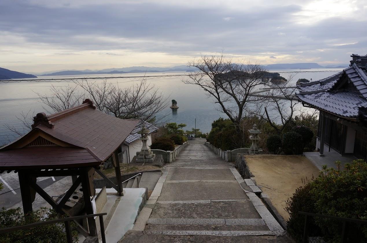 小豆島富丘八幡神社 覧魚崎