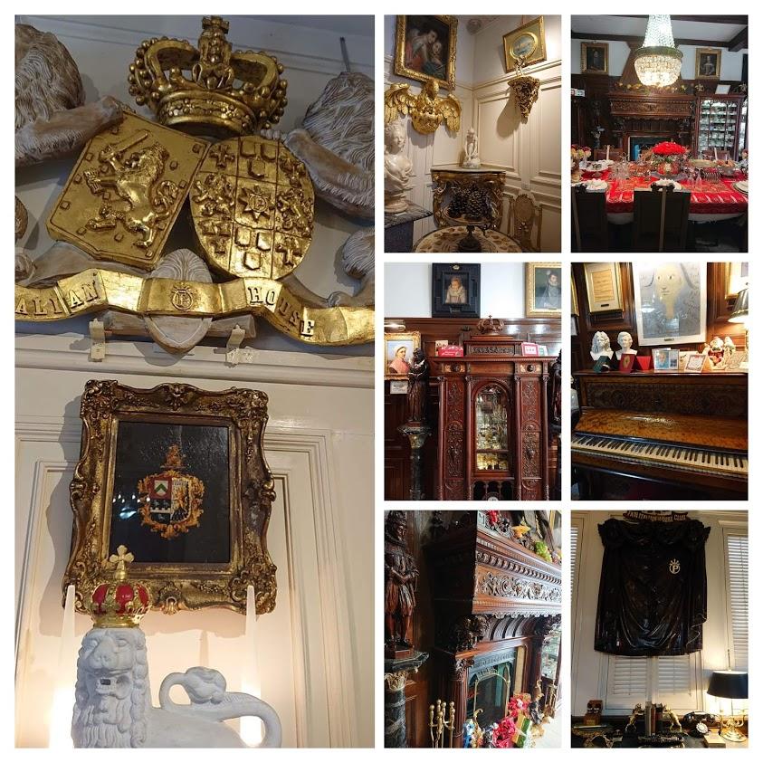 神戸異人館 プラトン装飾美術館(イタリア館)のお部屋