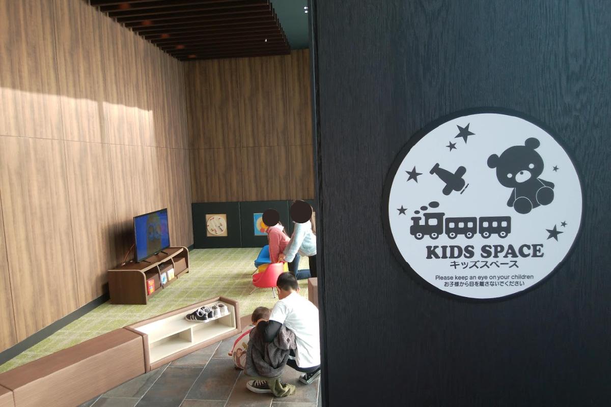 リーベルホテル アット ユニバーサル・スタジオ・ジャパンのDining BRICKSIDEのキッズスペース