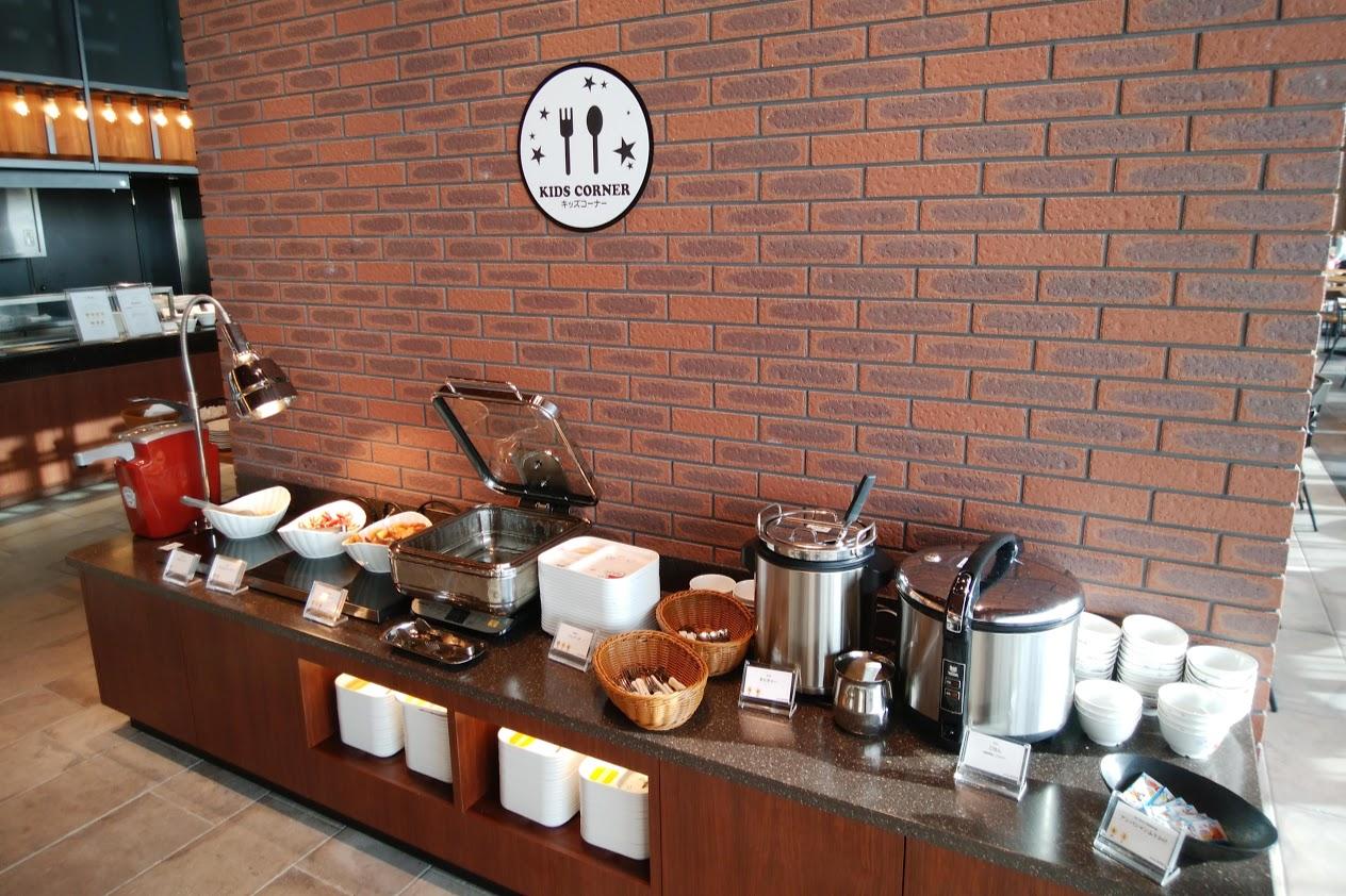 リーベルホテル アット ユニバーサル・スタジオ・ジャパンのDining BRICKSIDEのキッズコーナー