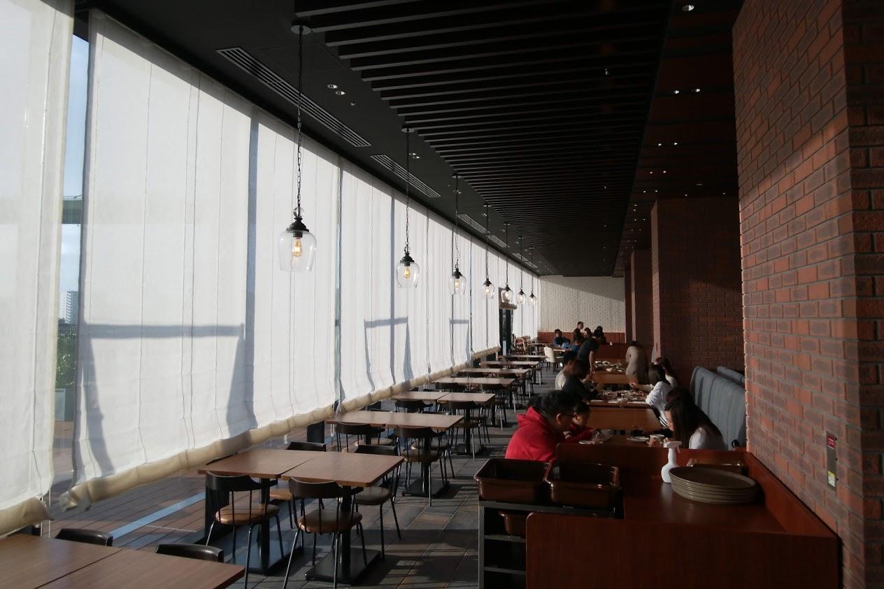 リーベルホテル アット ユニバーサル・スタジオ・ジャパン「Dining BRICKSIDE」