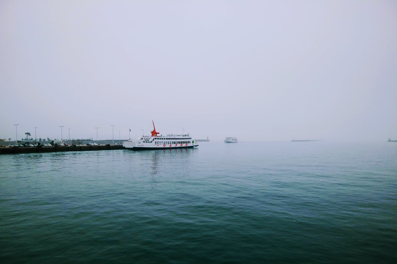 高松港のしょうどしま丸