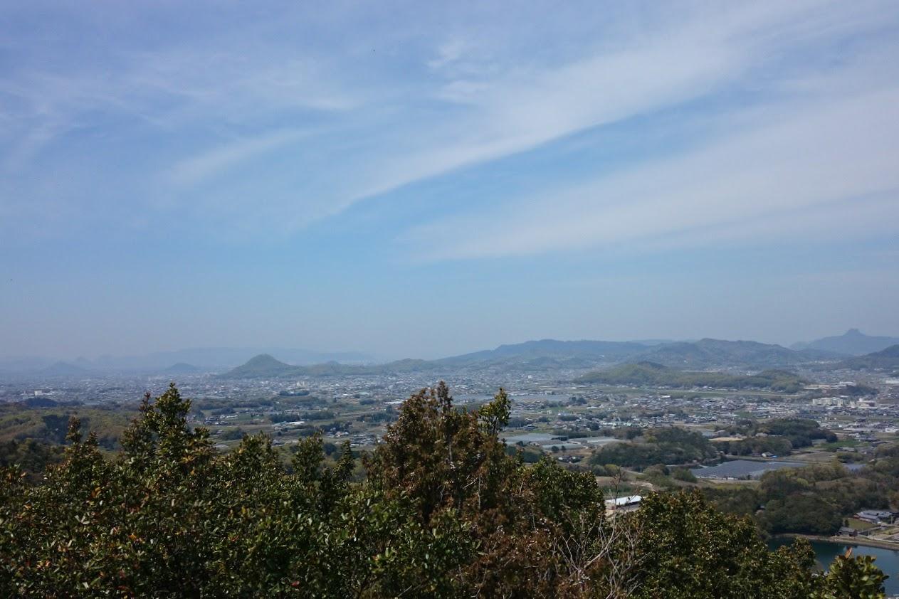 山上公園から見る景色
