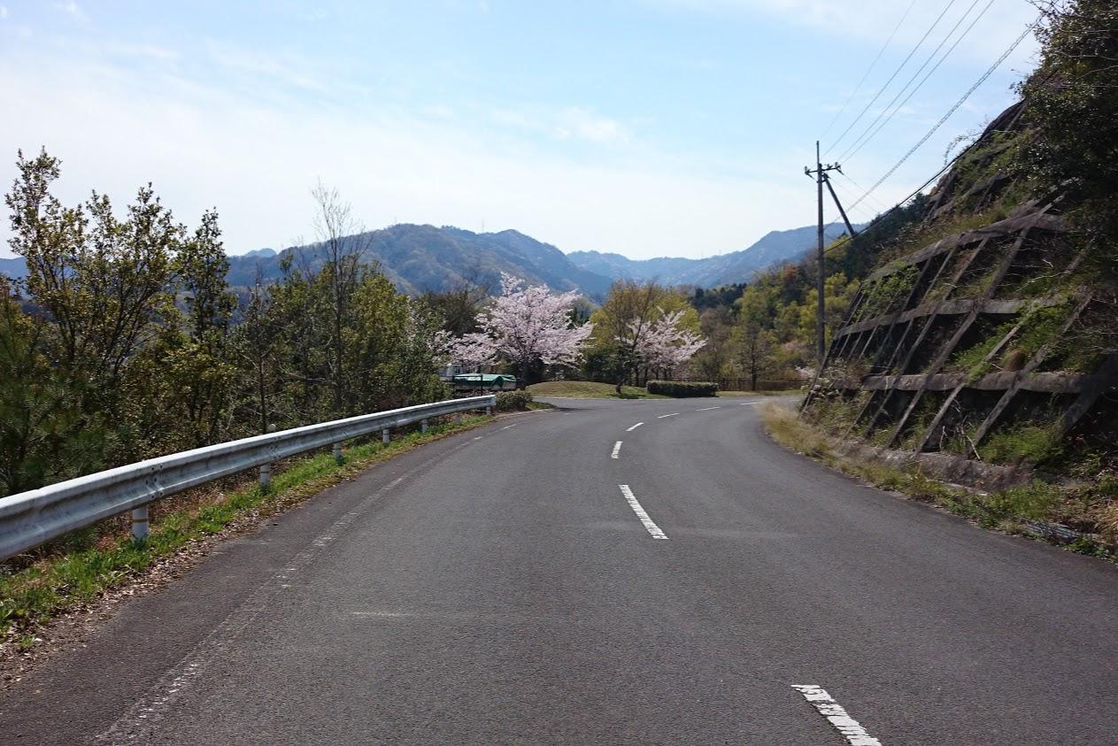 門入の郷周辺の道路