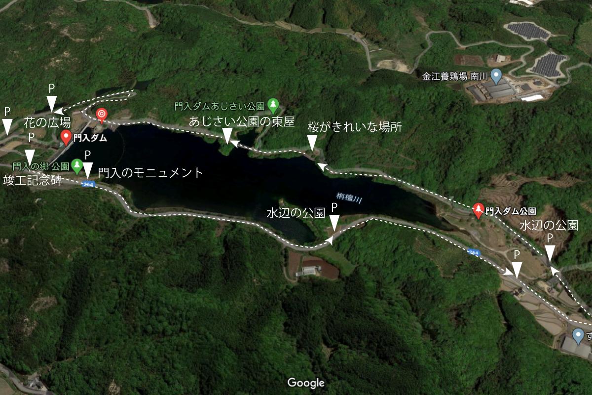門入の郷の地図